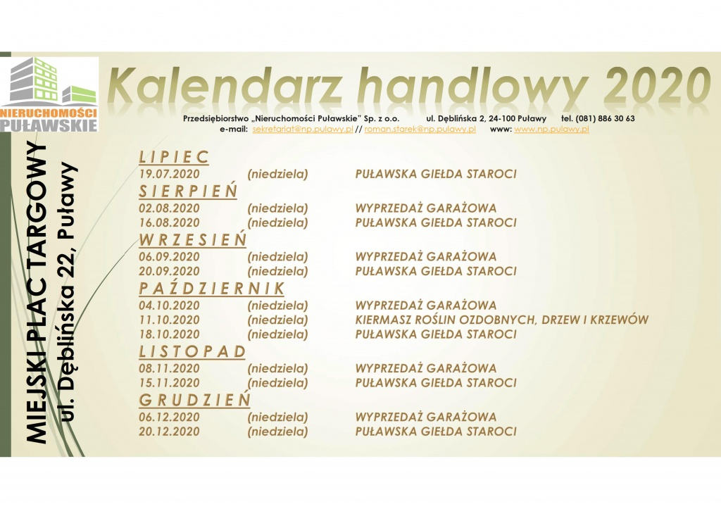 Kalendarz handlowy 2020 NP SP Z OO_1